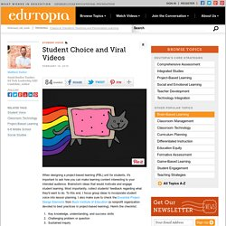 Student Choice and Viral Videos