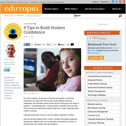 4 Tips to Build Student Confidence
