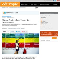 Making Student Data Part of the Conversation