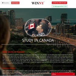 Study in Canada – Apply now for fall 2017