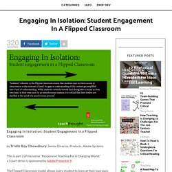 Student Engagement in a Flipped Classroom