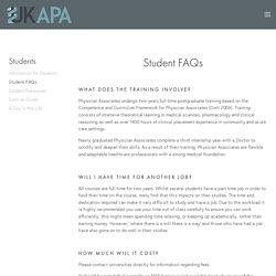 Student FAQs — UKAPA