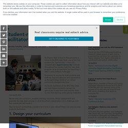 Student-run genius bar: The facilitator's guide