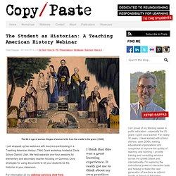 The Student as Historian: An Interactive TAH Webinar