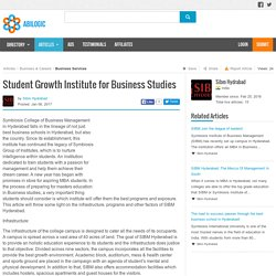 Student Growth Institute for Business Studies