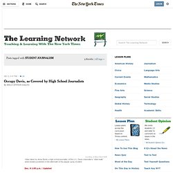 STUDENT JOURNALISM - The Learning Network Blog