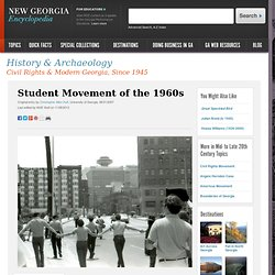 Student Movement of the 1960s
