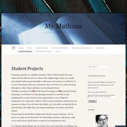 Student Projects « My Mathima