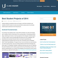 Best Student Projects of 2014 - Udacity - Climb Higher