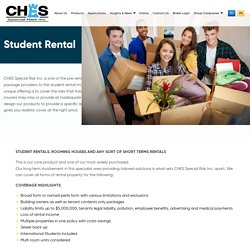 Student Rental - CHES Special Risk Inc