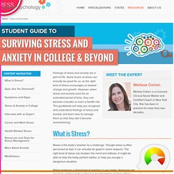 Student Stress & Anxiety Guide