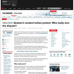 Quebec's student tuition protest: Who really won the dispute? - Montreal