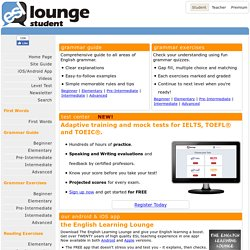 esl-lounge.com Student - Learn English for Free! English Grammar, Vocabulary, Reading