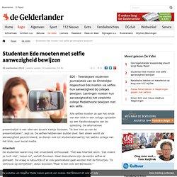 gelderlander: Studenten Ede moeten met selfie aanwezigheid bewijzen