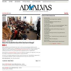 Boze VU-studenten bezetten bestuursvleugel