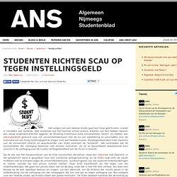 Studenten richten SCAU op tegen instellingsgeld