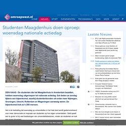 Studenten Maagdenhuis doen oproep: woensdag nationale actiedag