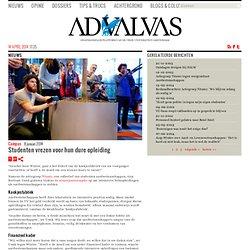 advalvas: *Studenten vrezen voor hun dure opleiding