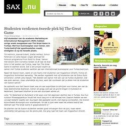 Sax: Studenten verdienen tweede plek bij The Great Game