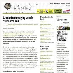 Hoe verder met de studentenbeweging? Kritische Studenten Utrecht