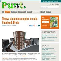 Nieuw studentencomplex in oude Rabobank Breda