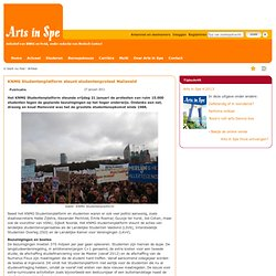 KNMG Studentenplatform steunt studentenprotest Malieveld
