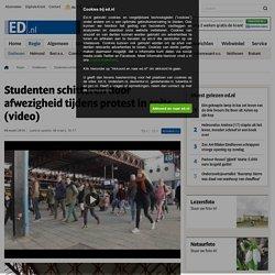 Rustig tijdens studentenprotest in Eindhoven