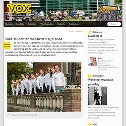 VOX: Oud-studenten raadsleden zijn boos