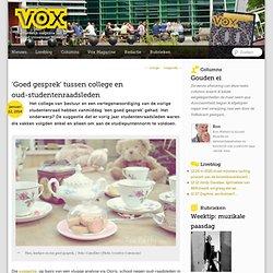 VOX: 'Goed gesprek' tussen college en oud-studentenraadsleden
