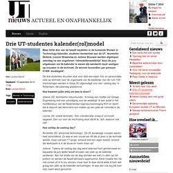 Drie UT-studentes kalender(rol)model