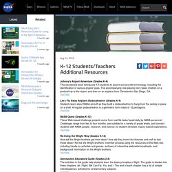 K-12 Students/Teachers Additional Resources