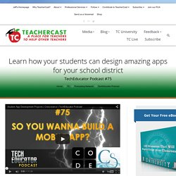 Learn how your students can design amazing apps for your school district