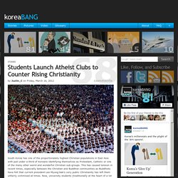 Students Launch Atheist Clubs to Counter Rising Christianity