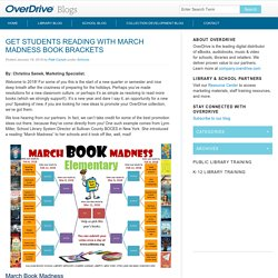 Get students reading with March Madness Book Brackets - OverDrive Blogs