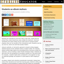 Students as eBook Authors