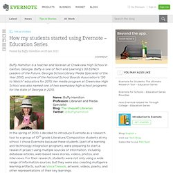 How my students started using Evernote - Education Series