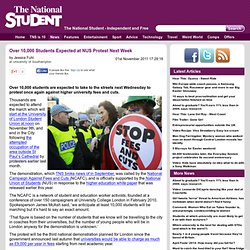 NUS: Over 10,000 Students Expected at NUS Protest Next Week -