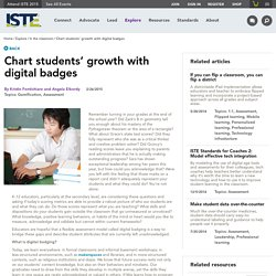 Chart students' growth with digital badges