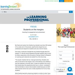 Students on the margins - Learning Forward
