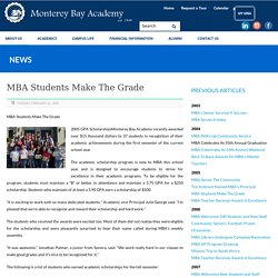 Monterey Bay Academy Students Make The Grade