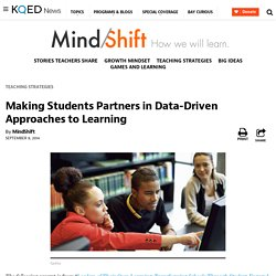 Making Students Partners in Data-Driven Approaches to Learning