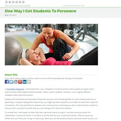 One Way I Get Students To Persevere – Robert Kaplinsky