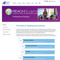 Reach Students : Professional Practice