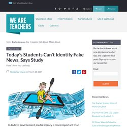 7 Tips for Teaching Students How to Recognize Bias in an Era of Fake News