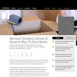 Moving? Students Devise A Smarter Way To Pack Boxes