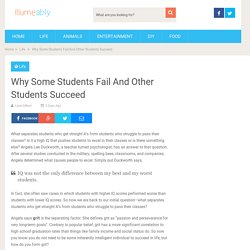 Why Some Students Fail And Other Students Succeed - Illumeably