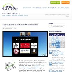 Helping Students Understand Media Literacy