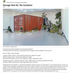 Studer/van den Berg: Passage Park #2: The Container