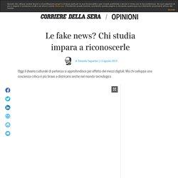 Le fake news? Chi studia impara a riconoscerle