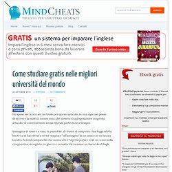 Come studiare gratis nelle migliori università del mondo - Mindcheats
